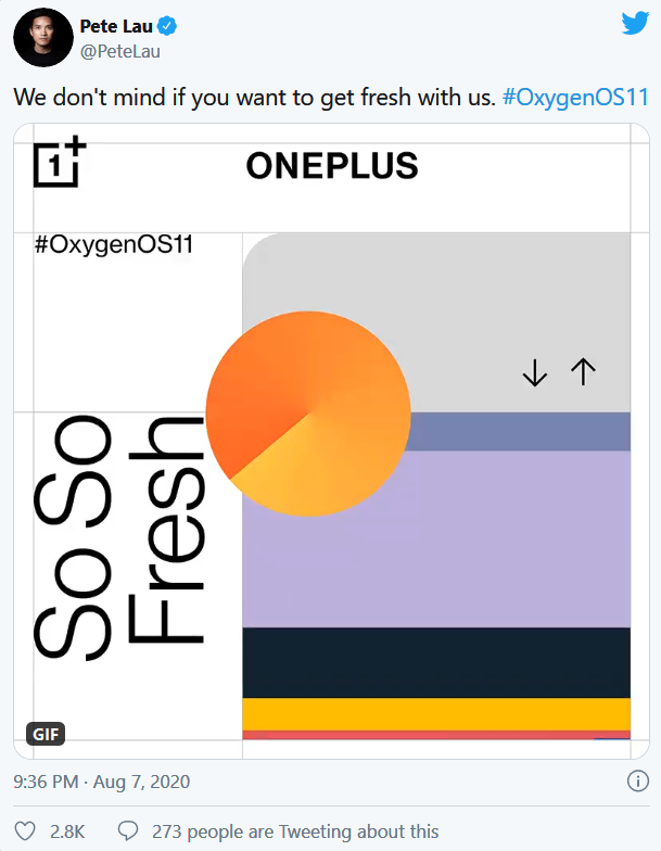 Oneplus new android 11 always on display