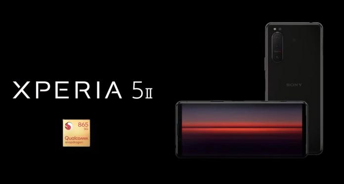 sony xperia 5 II leaked video