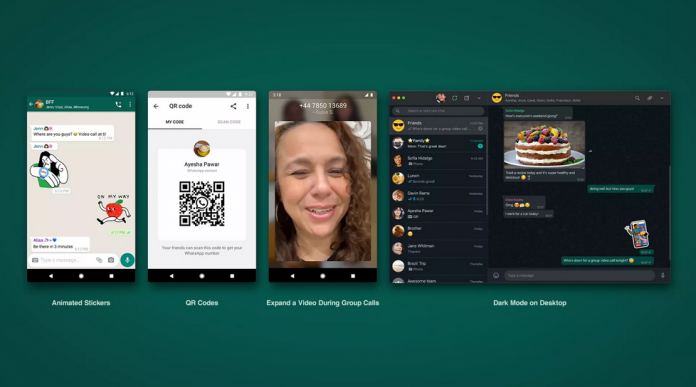 whatsapp QR code scanning